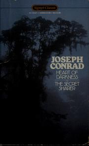 Cover of: Heart of darkness ; and, the secret sharer by Joseph Conrad