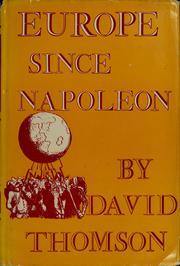 Europe since Napoleon PDF