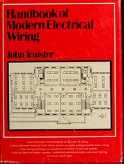 Handbook of modern electrical wiring PDF