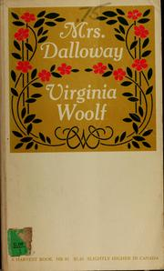Cover of: Mrs. Dalloway by Virginia Woolf