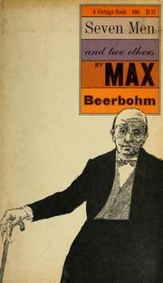 Seven men and two others by Beerbohm, Max Sir