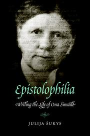 Cover of: Epistolophilia by