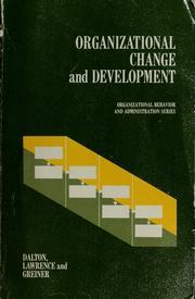 Organizational change and development PDF