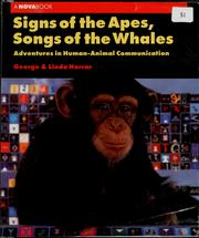 Signs of the apes, songs of the whales PDF