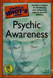 The complete idiot's guide to psychic awareness PDF