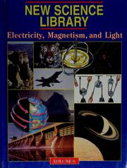 Cover of: Electricity, magnetism, and light
