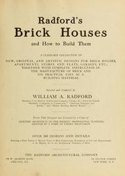 Radford's brick houses and how to build them PDF