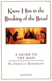 Know Him in the breaking of the bread PDF