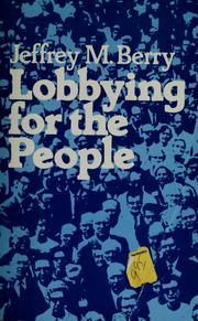 Lobbying for the people PDF