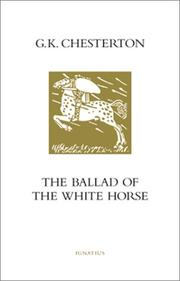 The ballad of the white horse PDF