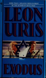 Cover of: Exodus by Leon Uris