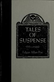 Cover of: Tales of suspense by Edgar Allan Poe