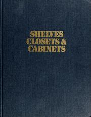 Shelves, closets & cabinets PDF