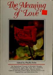 The Meaning of love PDF