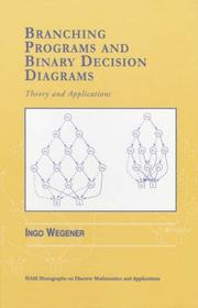 Branching programs and binary decision diagrams PDF