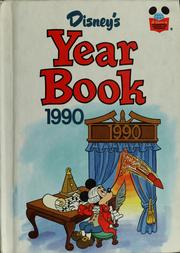Cover of: Disney's year book 1990 by