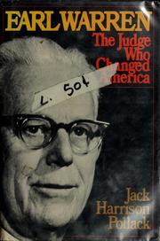 Earl Warren, the judge who changed America PDF