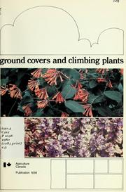 Ground covers and climbing plants PDF