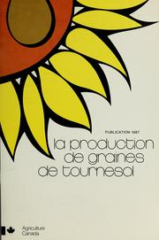 La Production de graines de tournesol PDF