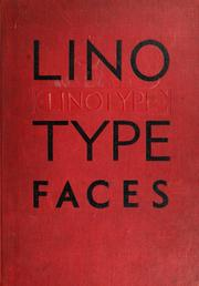 Specimen book Linotype faces by Mergenthaler Linotype Company.