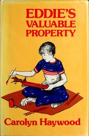 Cover of: Eddie&#39;s valuable property by Carolyn Haywood