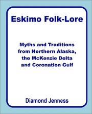 Eskimo Folklore by Diamond Jenness