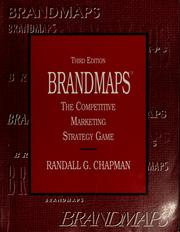 Cover of: Brandmaps by Randall G. Chapman