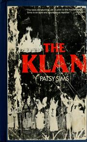 Cover of: Klan by Patsy Sims