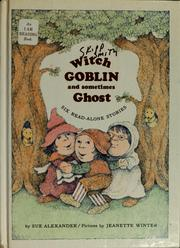 Witch, Goblin, and sometimes Ghost PDF
