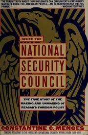 Inside the National Security Council PDF
