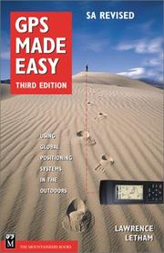 GPS made easy by Lawrence Letham