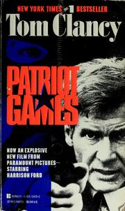 Cover of: Patriot games | Tom Clancy