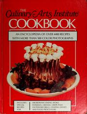 The Culinary Arts Institute Cookbook by Culinary Arts Institute.