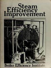 Steam efficiency improvement by David F. Dyer