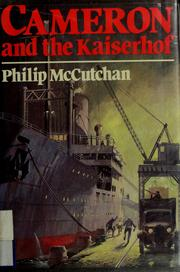 Cameron and the Kaiserhof by Philip McCutchan