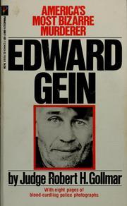 Edward Gein, America's most bizarre murderer PDF