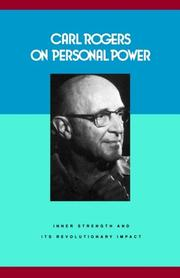 Carl Rogers on Personal Power by Rogers, Carl R.