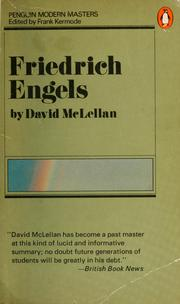 Engels by McLellan, David.