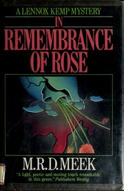 In remembrance of Rose PDF