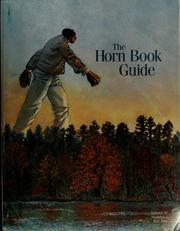 The Horn book guide to children's and young adult books, Fall 2000 PDF