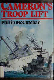 Cameron's troop lift by Philip McCutchan