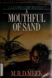 A mouthful of sand PDF