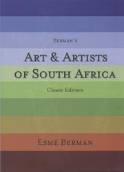 Cover of: Art and Artists of South Africa by