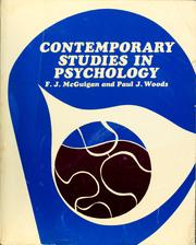 Contemporary studies in psychology