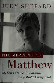 The Meaning of Matthew PDF