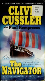 Cover of: The navigator | Clive Cussler