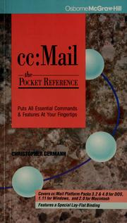 Cc: Mail by Christopher Germann