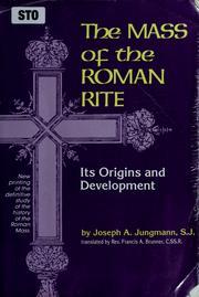 The Mass of the Roman rite PDF