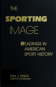 The Sporting image PDF