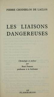 Dangerous Liaisons PDF